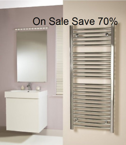 Designer Chrome Towel Warmers Zehnder Mitor Brand New Made in Germany Save 70%