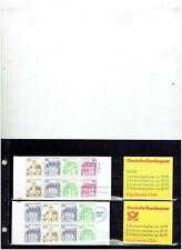 BUNDES REPUBLIEK vier postzegelboekjes POSTFRIS MNH