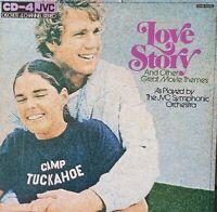 Love Story & Other Movie Themes. Vintage Vinyl Movie Soundtrack. Japanese Import