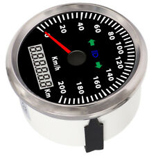 3 3/8'' 85mm GPS Speedometer 200KPH 100% Waterproof  IP67 Car Truck Motorcycle