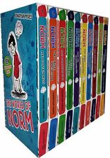 The World of Norm Collection Jonathan Meres 10 Books Set, .