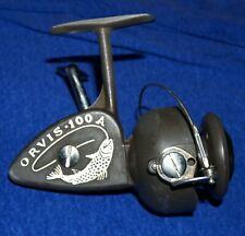 Vintage Orvis 100 A Spinning Fishing Reel Made in Italy Quiet & Smooth