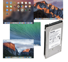 " 320GB 2.5"" SATA HDD Hard Drive Pre-loaded with Apple Mac OS High Sierra"