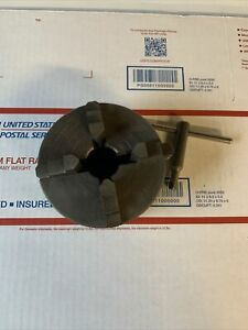 "618 101 Atlas Craftsman 6'' Metal Lathe 4"" Independent 4 Jaw Chuck 1-10 Tpi"