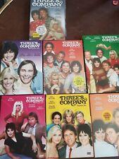 Three's Company: The Complete Series DVD Disc Set Season 1 2 3 4 5 6 7 8