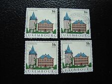 LUXEMBOURG - timbre yvert et tellier n° 1326 x4 obl (A30) stamp