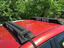 XXL SOFT ROOF RACK:universal surfboard paddleboard truck ladder snow ski car SUP