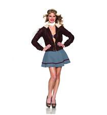 Delicious Vintage Pilot Costume, S