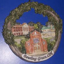 Bowling Green Ohio Christmas Ornament Main Street Buildings 2005
