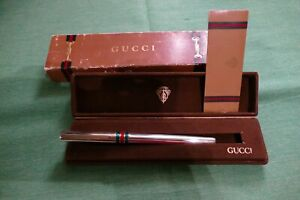 Gucci Sterling Silver Rollerball Pen