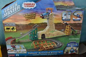 THOMAS & FRIENDS TRACKMASTER SET - AVALANCHE ESCAPE, TRACK PARTS
