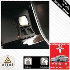 🚗AIRPODS / AIRPODS PRO HOLDER SOPORTE⚡ Tesla Modelo Model 3 & Y Wireless Apple