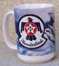 Coffee Mug Military Air Force Thunderbirds NEW 14 ounce cup with gift box