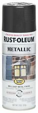 7250830 Stops Rust Metallic Spray Paint, 11 Oz , Noche Negra