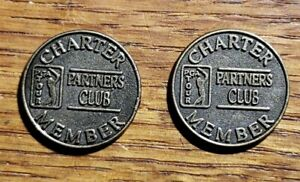 Vintage Charter Member PGA Tour-Partners Club-Coin  J-62  AS-IS