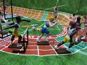 MOUNT OLYMPUS KIDS ACTION FIGURE LINEUP TRACK & FIELD NEW SPORT GAME RELAY TOYS