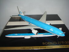 "Gemini Jets 200 KLM Royal Dutch Airlines B777-200ER ""2000s color"" 1:200 DIECAST"