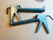2 Stk Profi Kartuschenpistole Kartuschenpresse Silikonpistole 310ml Metall A1615