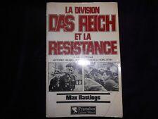 La division DAS REICH et la RESISTANCE du 8 juin au 20 juin 1944-Bon état-1983.