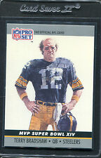 1990 Pro Set Super Bowl MVP Terry Bradshaw #14 Mint