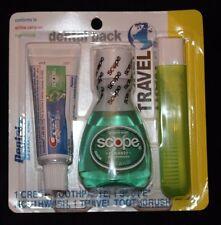 Dental Source Airline Carry-On Dental Travel Pack Crest Toothpaste, 1 Scope....