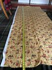 PIERRE DEUX YELLOW FRUIT PINEAPPLE French Country COTTON FABRIC 36'X 110' VTG