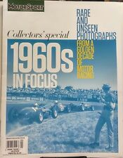 Motor Sport UK Collectors Special 1960's In Focus FREE SHIPPING sb