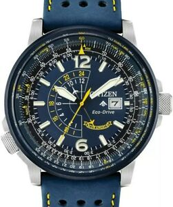 Citizen Eco-Drive Blue Angels World Chronograph Atomic Men's Watch (AT8020-03L)