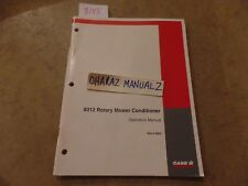 Case 8312 Rotary Mower Conditioner Operations Manual 6 6822