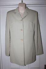 Ladies Cream Marc Aurel Jacket Size 36 Uk 8