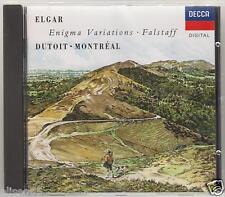 ELGAR ENIGMA VARIATIONS FALSTAFF DUTOIT MONTREAL CD