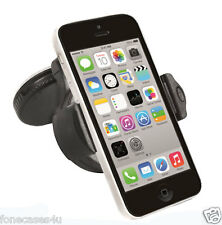 CAR HOLDER Cradle ASPIRAZIONE Mount kit 360 gradi rotazione completa per Bianco iPhone 5C