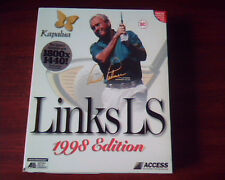 Kapalua Links LS 1998 edition Access - Golf game CDs + manual