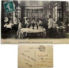 Cpa 45 La Motte-Beuvron Sanatorium des Pins salle à manger