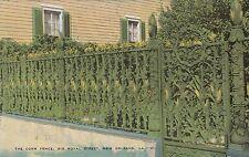 "*Louisiana Postcard-""The Corn Fence"" -50 Feet Long- /New Orleans/ (U1-La14)"
