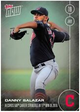 2016 Topps Now Danny Salazar Cleveland Indians #266 Run of 225...500th Career K