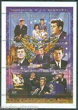 CHAD SCOTT#712J JOHN F. KENNEDY  SHEET  MINT NH