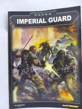 Warhammer 40K Imperial Guard long OOP army book codex