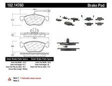 Disc Brake Pad Set-C-TEK Metallic Brake Pads-Preferred Front Centric 102.14760