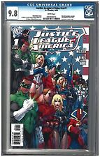 JUSTICE LEAGUE OF AMERICA #1 SET CGC 9.8 (10/06) DC Comics white pages