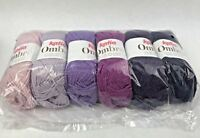 Katia Ombre 100% Extra Fine Merino Yarn (01 - Violets) - 6 Skein - Sealed