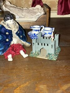 Doll House Toy Wooden Fort 1:12