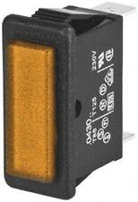 Arcolectric C0430FQNBA 28.2X11.5 MM AMB NEON PANEL INDICATOR, 230V - New