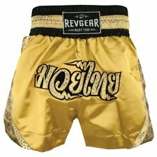 Revgear Women's Apsara Thai Shorts, Gold, Medium, Nwt!