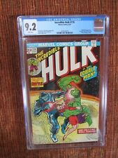 Incredible Hulk 174 CGC 9.2 Hulk VS The Cobalt Man