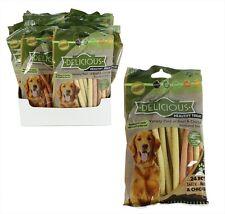 Pack of 24 Healthy Dog Treat Beef Chicken Food Pet Chews