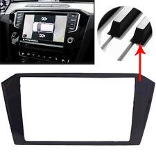 2Din Dashboard Frame Trim Car inner Black For VW Volkswagen Passat B8 2015-2018