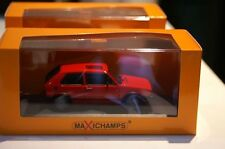 Maxichamps / Minichamps Volkswagen Golf GTI 1983 Red in 1:43 scale 055170
