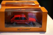 Maxichamps / Minichamps Volkswagen Golf GTI 1983 Red in 1:43 scale 055170