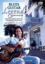 Blues Guitar Legends Dvd Instructional Guitar Dvd New 000001122